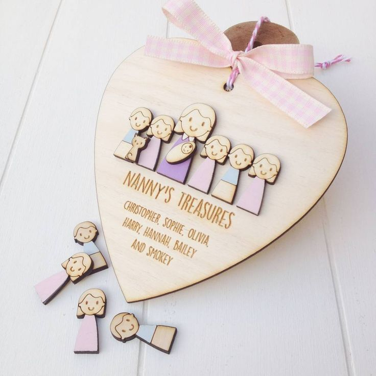 Are you interested in our wood sign nanny grandmother? With our personalised wood Grandma gift you need look no further.