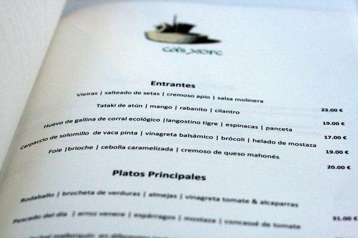 Spain Dining Guide: Spanish Menu Terminology