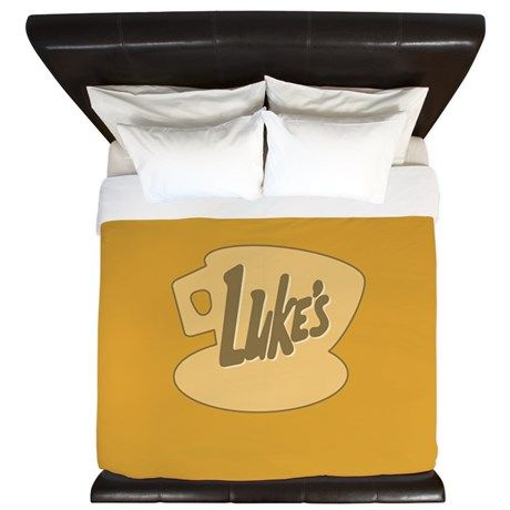 Lukes Diner King Duvet Gilmore Girls, Stars Hollow, #LukesDiner Dragonfly INN, In Omnia Paratus, life and death brigade lots of new products http://www.cafepress.com/profile/thetshirtpainter?searchTerm=gilmoregirlstv