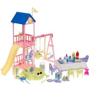 Barbie Happy Family Baby's 1st Birthday Playset
