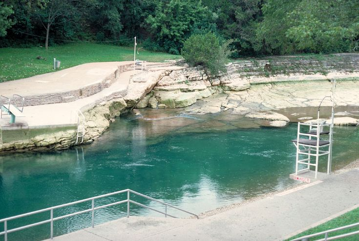 Barton Springs Pool Located In The Much Loved Zilker Metropolitan Park It Is Spring Fed Over