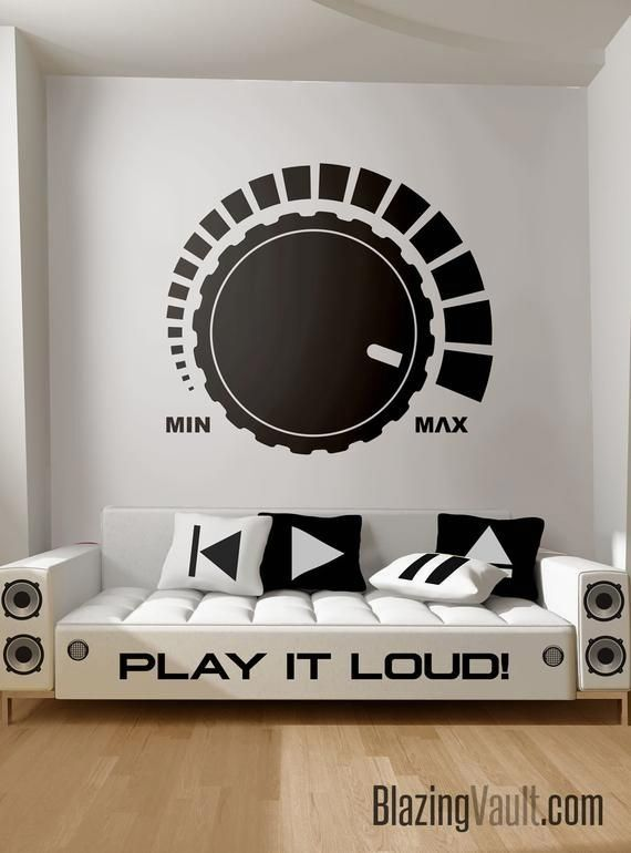 43 Use This House Audio Room Interior Style In 2020 Music Wall Stickers Music Bedroom Music Wall Decal