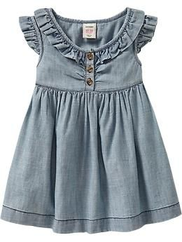 Old Navy has had the cutest toddler clothes this year.love love the denim