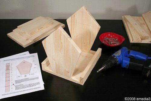 die besten 25 bauanleitung vogelhaus ideen auf pinterest insektenhotel bauanleitung. Black Bedroom Furniture Sets. Home Design Ideas