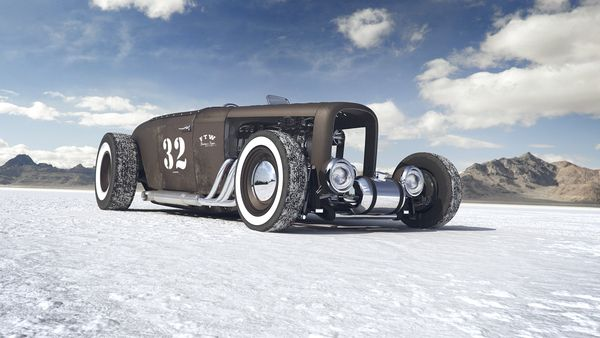 0012 – Top 5 Bonneville Salt Flats hot rod | ☠ Cafe Rockers