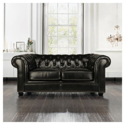 Buy Chesterfield Leather Small Sofa From Our All Sofas Range