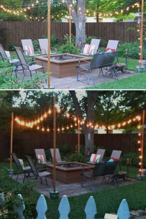 12 Easy Diy Outdoor Lighting Ideas You Can Create For Your Backyard Entertainment Backyard Lighting Diy Outdoor Lighting Diy Patio