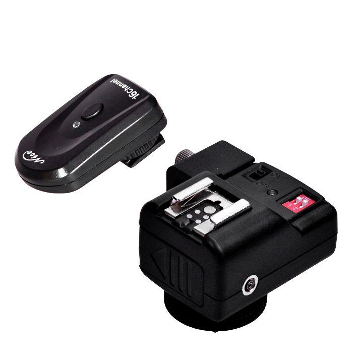 Радиосинхронизатор NiceFoto OTT-16GY (433 Mhz, 16 каналов) с 2-мя приёмниками