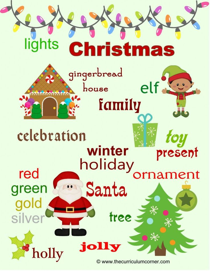 This Christmas themed word wall was created to be a resource for your young writers. Having common words posted in the room, can prevent constant interruptions for spelling requests. You might enlarge on your poster maker and allow students to add their own words. Or, add to individual writing folders. Christmas Word Wall