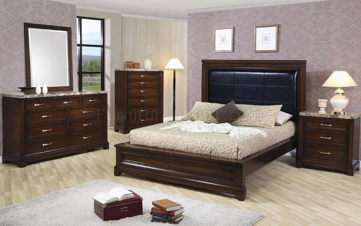 Dark Oak Bedroom Furniture Sets - Mark Cooper Research