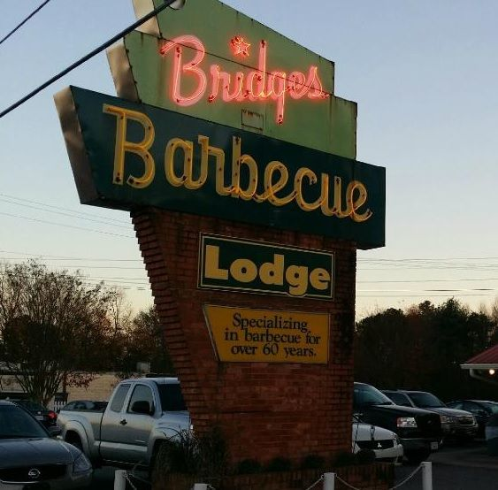 Bridges BarBeCue Lodge Shelby North Carolina