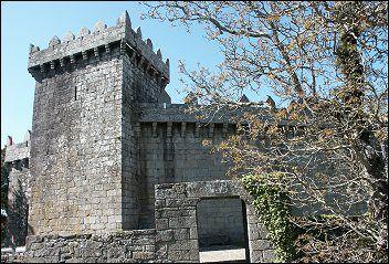 Castillo de los Moscoso (Museo) Vimianzo, Galicia