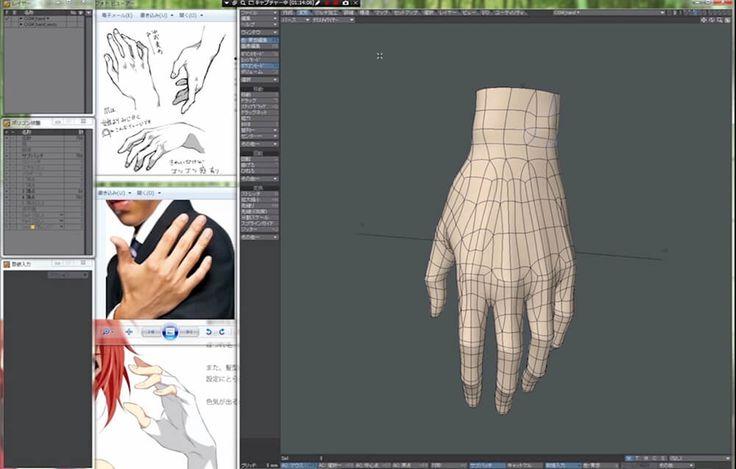 『神風動画』流公開講座、手のモデリング動画を徹底解説>>IDOLiSH7 二階堂 大和の手に込めたこだわり | 記事を読む | CGWORLD Entry.jp