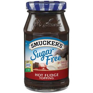 30% fewer calories than regular hot fudge topping Sweetened with Splenda Kosher