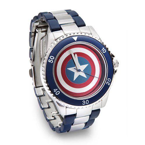 Internet das Coisas!!!: Captain America Shield Watch Bracelet Band