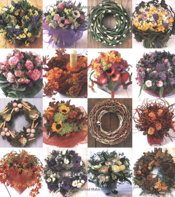 Seasonal Wreaths & Bouquets: Amazon.co.uk: Paula Pryke: Books