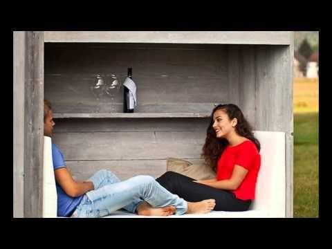 Lounge Koje aus Holz für zwei Personen » WITTEKIND