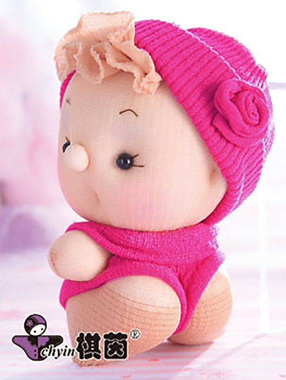 Little Rosie  Candy Babies Stuffed Toy Kit by ClassyThreadsKits, $12.00