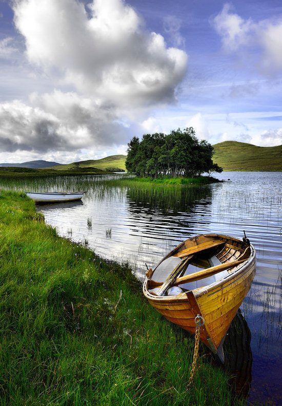 Loch Awe. Scotland.