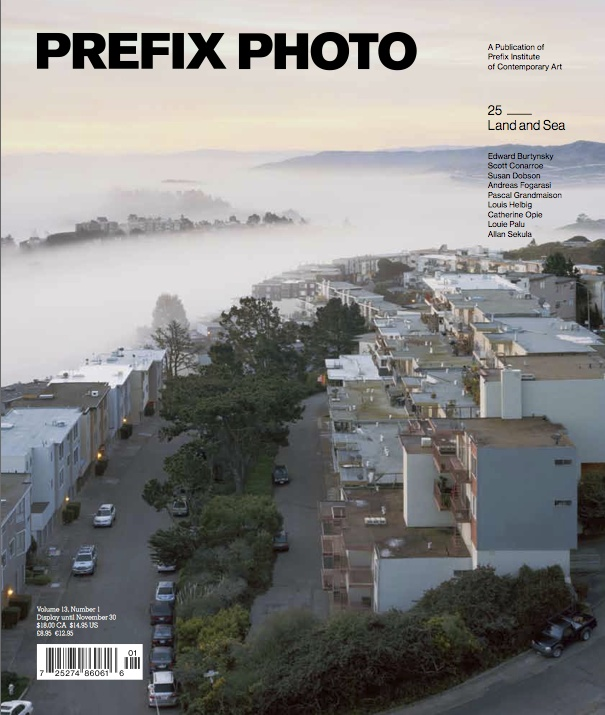 """Nominated in Art Direction for an Entire Issue. """"Issue 25: #Land and #Sea"""" by Underline Studio published by #Prefix #Photo."""