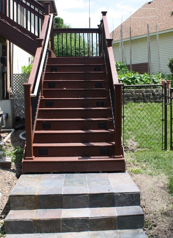 Wood Patio Steps Pictures: 16 Best Garden Stair Ideas Images On Pinterest