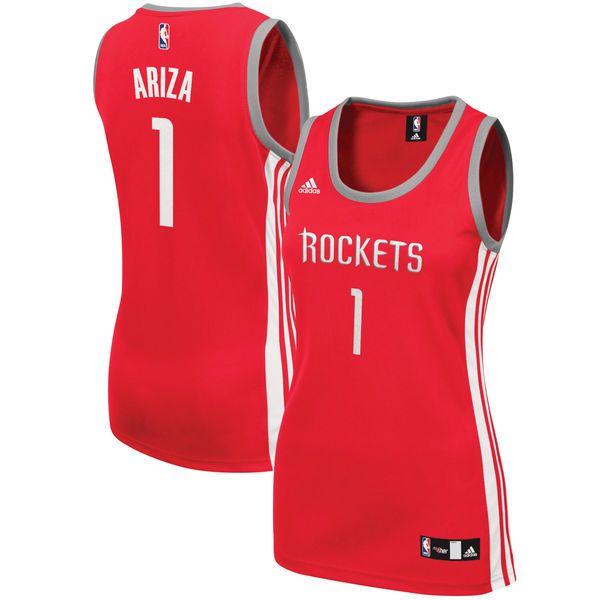 Trevor Ariza Houston Rockets adidas Women's Road Replica Jersey - Red - $48.99