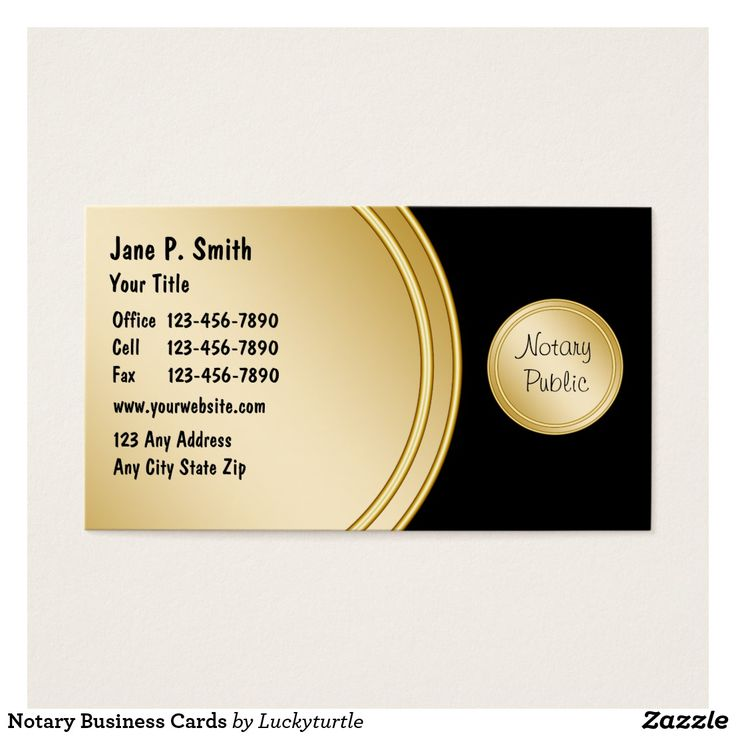 22 best Notary Public Business Cards images on Pinterest | Business ...