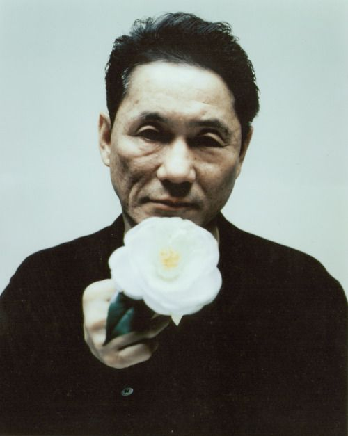 """Kitano — """"Accident… The way I came to make movies is a bit like the way we come into the world. By accident."""""""
