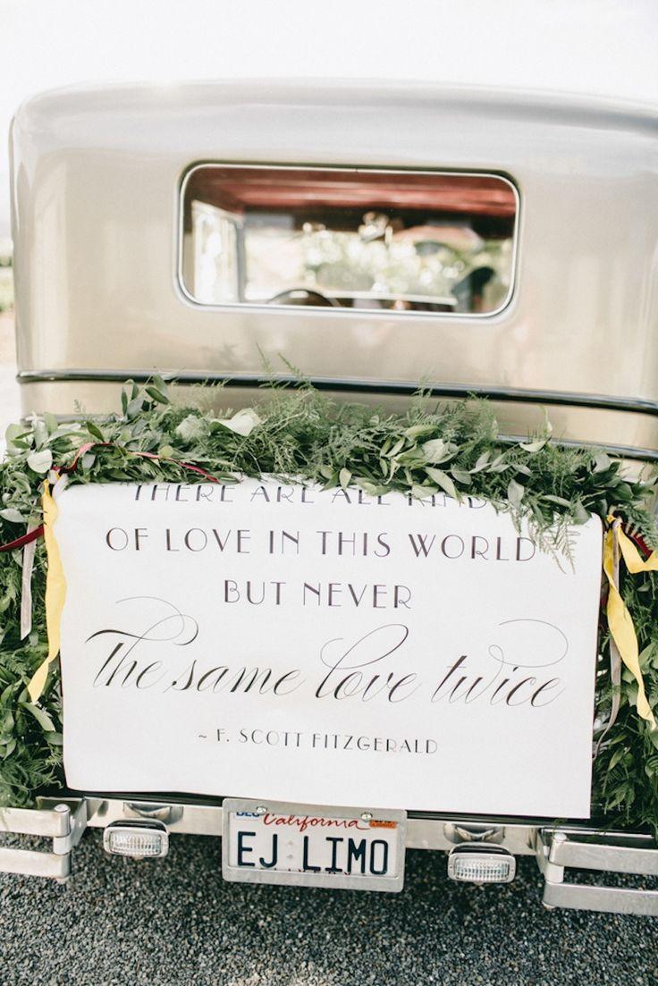 34 best wedding transportation images on pinterest wedding 1920s inspired healdsburg wedding junglespirit Image collections