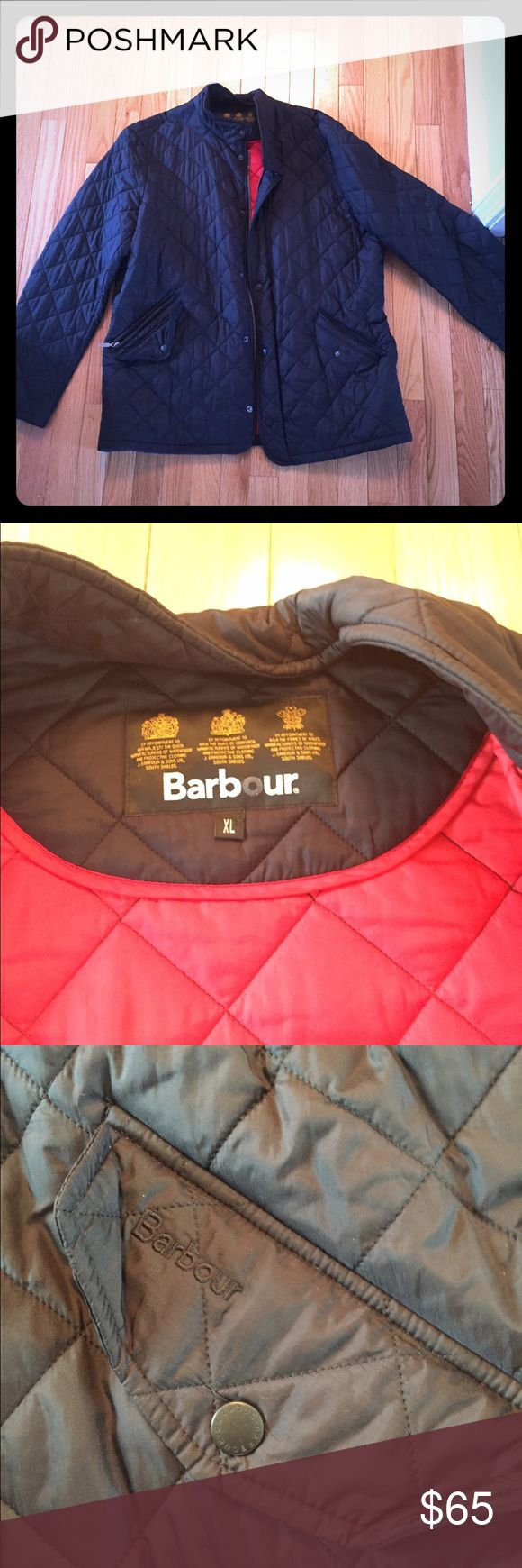 Men's Barbour coat Lined beautiful coat. Bought in Kittery ME at Barbour outlet. Perfect condition. Barbour Jackets & Coats Lightweight & Shirt Jackets