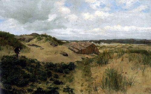 Kielland, Kitty Lange (1843-1914) - 1878 Coastal Landscape
