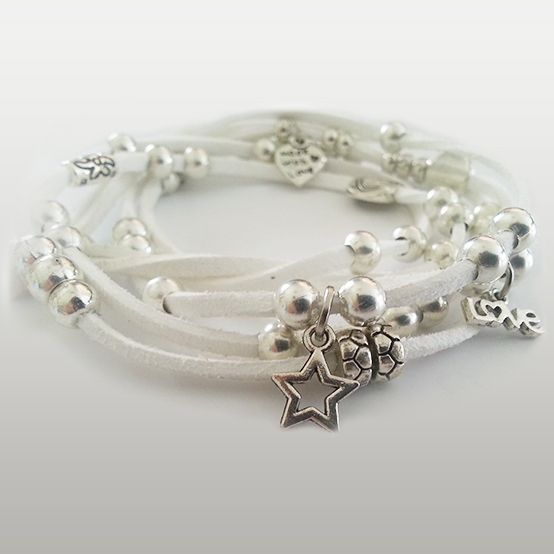Charm Wrap - R90 Available in black, white, red, grey & blue.