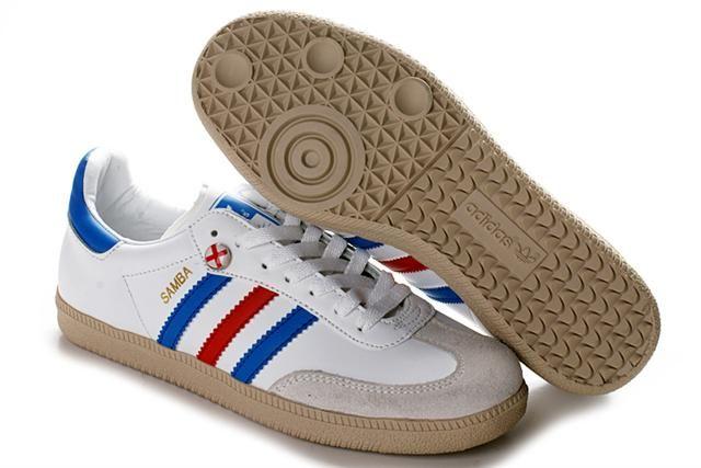 YA1724 Adidas Samba World Cup Pack Schuhe Weiß Beige Blau hannover