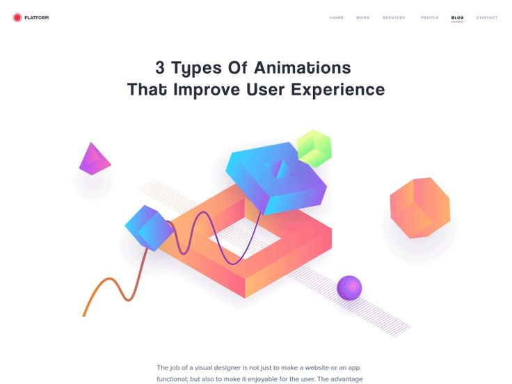 3 Types Of Animations That Improve User Experience by Adrian Reznicek