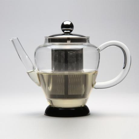 Pyrex Teapot – Stainless Steel & Glass from Let's Talk Teapots - R399 (Save 20%)