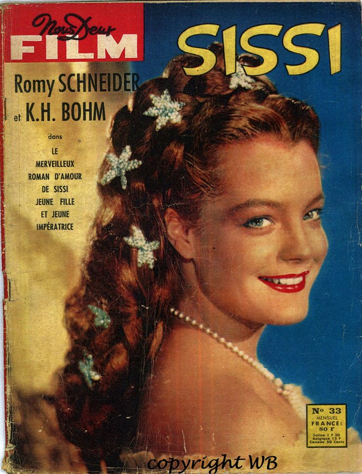 "Fabuleux Romy Schneider on the cover of ""Bravo"" magazine, Germany, December  LL28"
