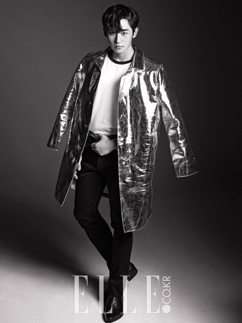 South Korean actor Jung Hae In for ELLEs Sept '14 edition #junghaein #elle #threemusketeers #korea #southkorea