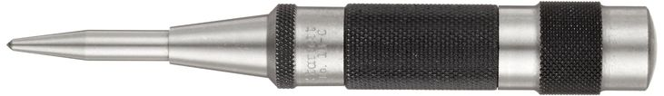 "Starrett 18C Automatic Center Punch Heavy-Duty With Adjustable Stroke, 5-1/4"" Length, 11/16"" Diameter"