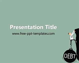 Debt PPT Template         |          Free PowerPoint Templates