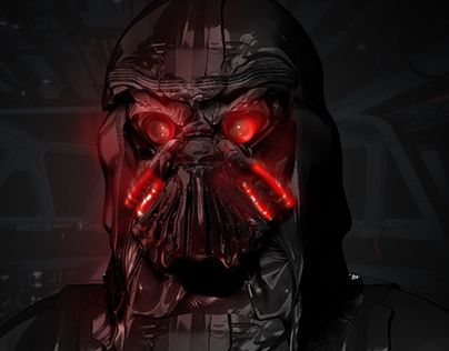 """Check out new work on my @Behance portfolio: """"Redesign Star Wars character - Darth Vader"""" http://be.net/gallery/33981594/Redesign-Star-Wars-character-Darth-Vader"""