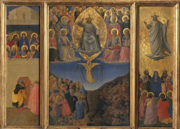 Fra Angelico 1400-1455  (Pentecôte, triptyque du Jugement dernier, Palais Corsini)