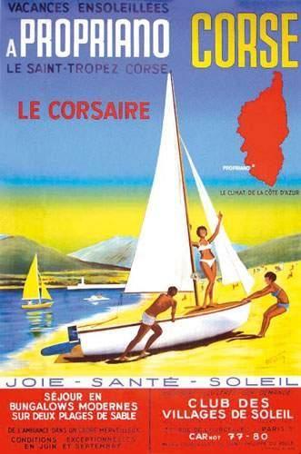 Propriano - Corse - illustration de Ottosky -