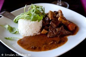 Boeuf Bourguignonne, fransk köttgryta