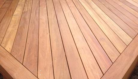 Hardwood decking suppliers Exmouth