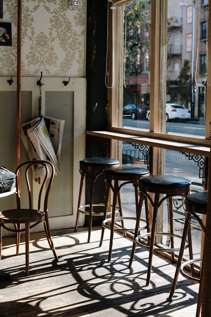 The best vintage bar and restaurants in New York City!   www.barstoolsfurniture.com