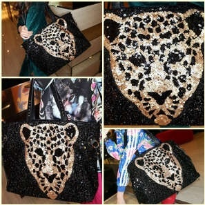 Best seller ever !! Leopard in sequin TOP