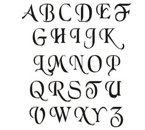 587ee692f1e03d4e1a479a466bcf47ff--font-alphabet-letter-fonts Old Fashioned Lettering Templates on