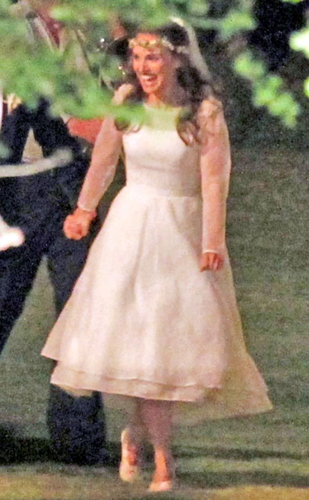 Natalie portman wedding dress