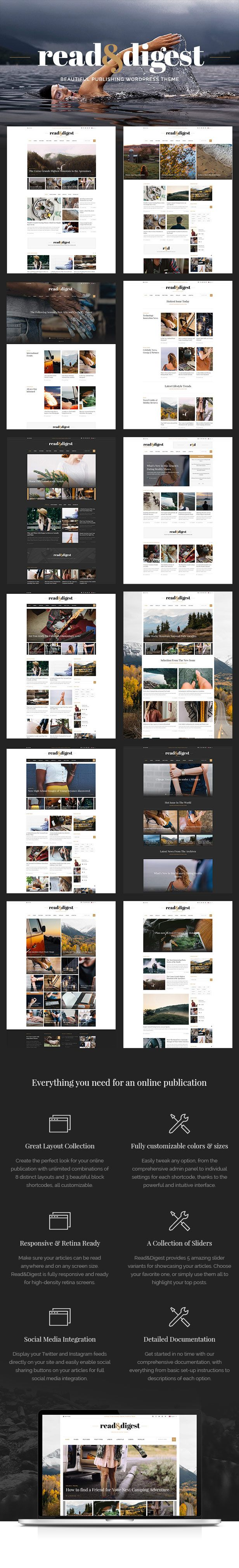 Read & Digest - Wordpress Theme for Magazines, Newspapers & Blogs • Download theme ➝ https://themeforest.net/item/read-digest-theme-for-magazines-newspapers-blogs/14806079?ref=pxcr