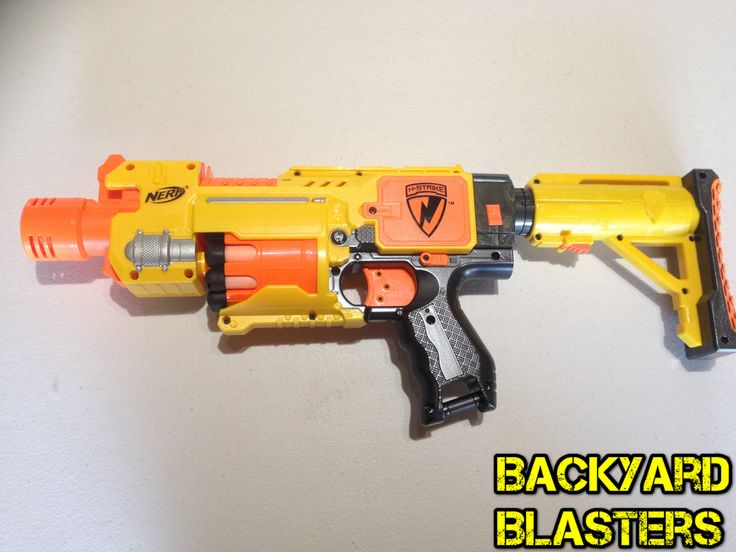 Name the blaster and its operation (flywheel, springer or air) And for the  real experts, what is her dart capacity and from which Nerf line was ...